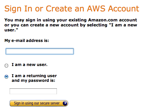add username and password